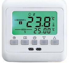 Digital Thermostat Raumthermostat 16A Wochenprogramm Nachtabsenkung #z741