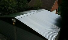 4.8m (16ft) 1m cover galvanised metal corrugated roofing sheet tin cladding