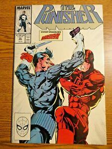 Punisher #10 Portacio Daredevil Cover Key FVF 1st Alfred Coppersmith DD Marvel