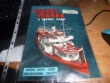 MODEL MAKER & MODEL CARS MAGAZINE November 1962