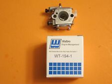 Genuine Walbro carburetor, WT-194-1, WT-194 fits Stihl 024 026 024AV, 024S MS260