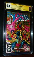 X-MEN #282 1991 Marvel Comics Signature Series Whilce Portacio 2nd CGC 9.4 NM