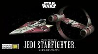 Bandai 216383 Star Wars Jedi Starfighter 1/144 Scale Plastic Model Kit