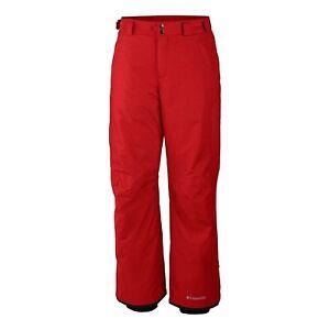 Columbia Men's Arctic Trip Omni-Heat Ski Pants (Red XX-Large 1843101696