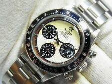 ALPHA WATCH DAYTONA IVORY DIAL PAUL NEWMAN MECHANICAL 3 REGISTERED CHRONOGRAPH