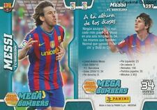 N°397 LIONEL MESSI # ARGENTINA FC.BARCELONA MEGACRACKS CARD PANINI LIGA 2011