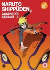 Naruto Shippuden Complete Series 4 DVD All Episodes Fourth Season UK Release NEW