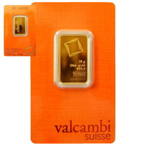 ++ Valcambi - 10g Goldbarren  ++