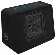 "Kicker 44TL7S102 10"" 1200w L7 Solo-Baric L7S Loaded Car/Truck Sub Enclosure Box"
