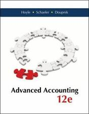 Advanced Accounting by Doupnik, Hoyle & Schaefer. 2014 12th edition - Acceptable