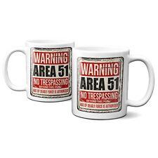 Area 51 Distressed Sign Ceramic 11oz Mug