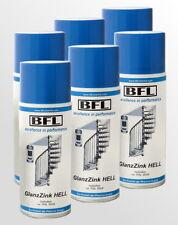 6x400ml ZINK-Spraydose RAL 9006 Ausbesserung von Frischverzinktem  8,25 €/Dose