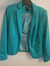 The Limited Turquoise Blazer XS