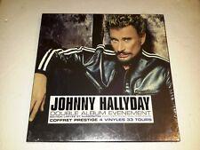 """Johnny Hallyday Coffret Prestige Collector """"À la vie à la mort"""" Édit. numérotée"""