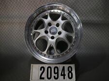 """1Stk. RH ZW3 Mercedes Audi VW Seat Skoda Alufelge Mehrteilig 8Jx17"""" ET55 #20948"""