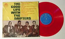 THE GOOD LIFE WITH THE DRIFTERS RED VINYL MEGA RARE 1965 TAIWAN PRESSING! EX!