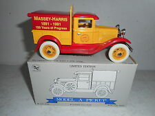 Liberty Classics Model A Pickup - Massey-Harris - 100 Years of Progress - NIB