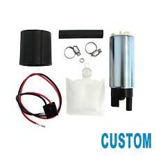 Custom Genuine 255LPH High Flow Electric Fuel Pump w/Installation Kit GSS342 #MZ