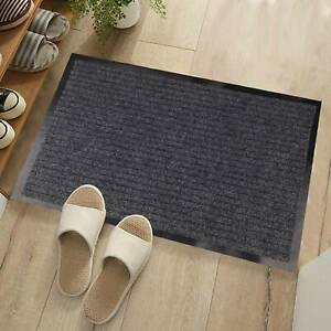 Non Slip Rubber Mat Door Mats Indoor Outdoor Washable Rugs Welcome Door Mat