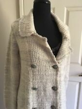 FREE PEOPLE COAT CARDIGAN WARM FULLY LINED WOOL BLEND A CONDITION SP