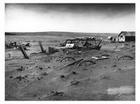 1936 South Dakota Dust Bowl PHOTO,Great Depression Dust Storm, Great Plains Farm