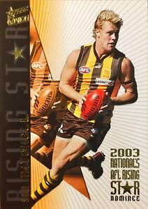 2004 SELECT AFL OVATION HERITAGE GUERNSEY, SAM MITCHELL RSN1
