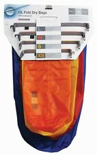 Exped Impermeabile Ultralite Piegare drybags Pack [4] Luce Kayak Pesca Campeggio