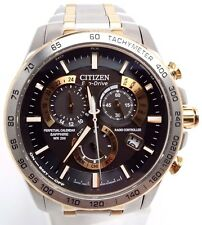 Citizen Eco-Drive Mens Perpetual Calendar Radio Control Watch AT4004-52E
