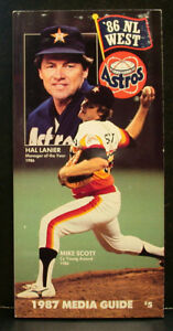 1987 Houston Astros Official Media Press Guide, 214 Pages of Facts and Fun!