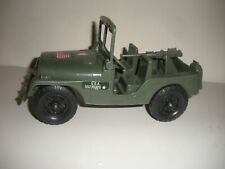 Unknown Brand Plastic US Army Jeep with Machine Gun.