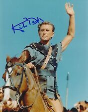 KIRK DOUGLAS SIGNED SPARTACUS 8X10 PHOTO B RARE SHOWSTUFF