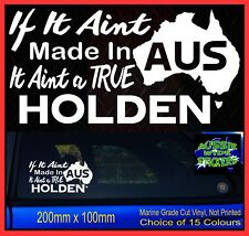 MADE IN AUS Funny Aussie 4x4 ute BNS Custom Car Stickers Accessories For Holden