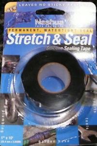 "Nashua Stretch & Seal Silicone Sealing Tape 1"" x 10'"