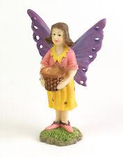 Fiddlehead Garden Fairy Girl With Basket