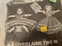 Looney Chrislaine 2 In 1 Doll Making Kit, TOPSY-TURVY DOLL, Historical Folk Doll