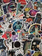 Spaceman Men on the Moon Astronaut Cosmos Sticker Laptop Skateboard Water Resist