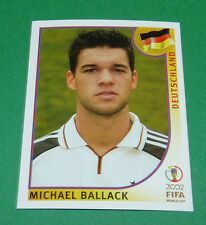 N°321 BALLACK ALLEMAGNE PANINI FOOTBALL JAPAN KOREA 2002 COUPE MONDE FIFA