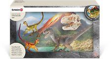 Schleich Velociraptor on the hunt 42259 Playset Dinosaur Figures