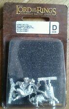 LOTR Warhammer Hobbit Militia Metal Slotta Miniatures Boxed