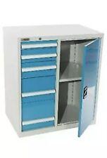Shopflow Modular Parts Tool Storage Cabinet 5 Drawer 34w X 22d X 39h New