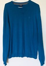 MCNEAL Clothing Company Mens Casual Blue Cotton Sweater Size L Large