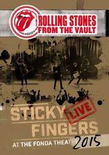 Rolling Stones - Sticky Fingers - Live At The Fonda Theatre 2015 (R0) - DVD - Mu