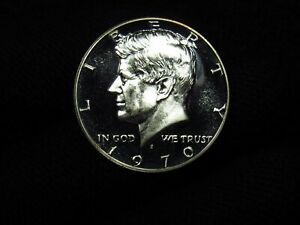 1970-S PROOF Kennedy Half Dollar 40% Silver