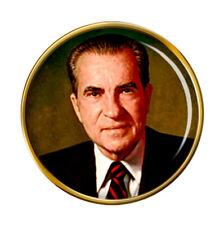 President Richard Nixon Pin Badge