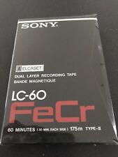 10 Stück  Sony ELCASET  FeCr LC-60 Typ   