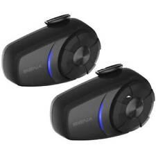 Sena 10S Bluetooth Motorcycle Motorbike Intercom Communication Headset DUAL KIT