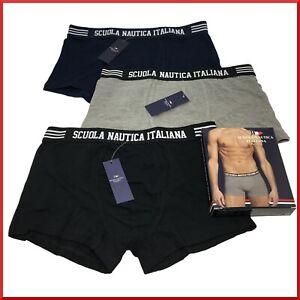 Boxer da uomo 6 PAIA in cotone elasticizzato intimo mutande slip colorati xl l
