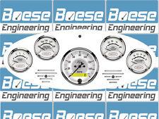 34 Ford Truck Billet Aluminum Dash Insert Gauge Panel Instrument Cluster