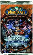 WOW TCG World of Warcraft - Blood of Gladiators - Booster Pack - UK - FREE P+P