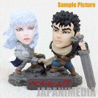 Berserk Guts & Griffith Mini Figure Set Limited Chara Heroes JAPAN ANIME MANGA